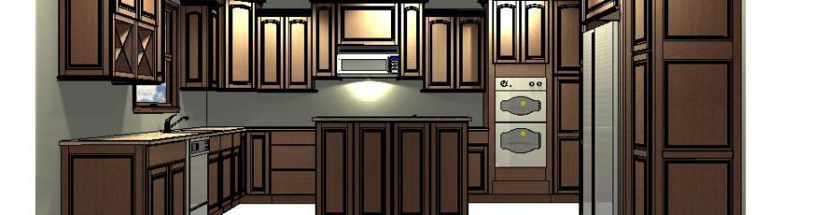 EA Home Repair New Kitchen Design-Build in Tremont New Home Custom build kitchen